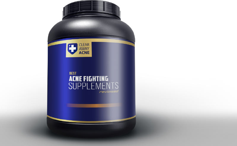 Reviewing the best supplements for acne prone skin.